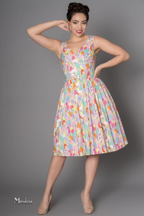 classic vintage rockabilly retro dress