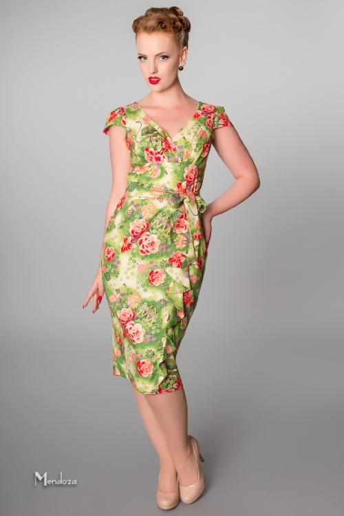 Hawaiian Dress | Hawaiian vintage style wedding dress ...
