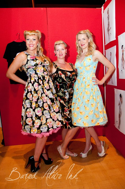 limb Victory Parade dresses prints vintage