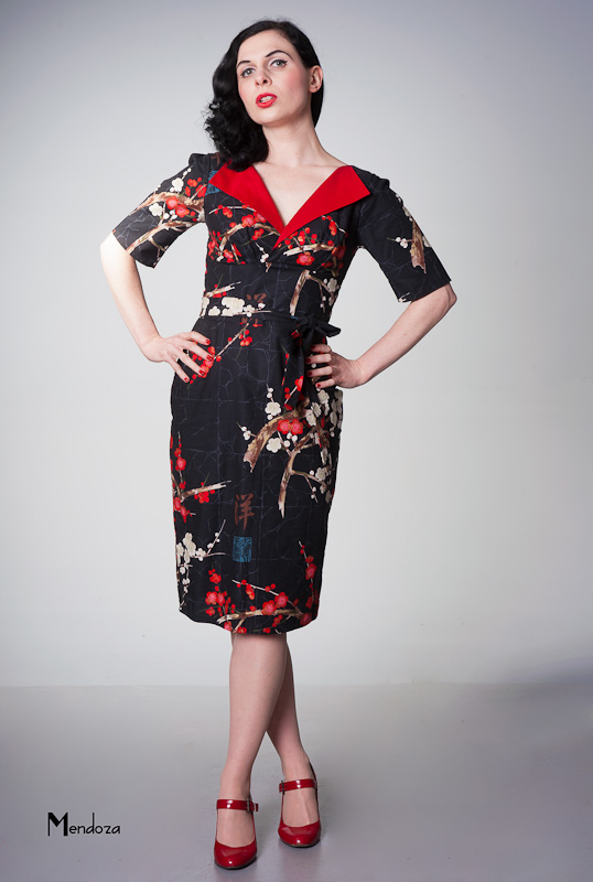 revere Pencil. Vintage style dress